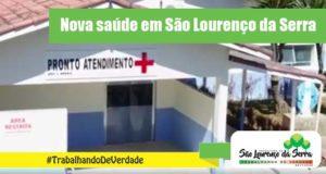 Já conheceram a nova saúde de São Lourenço da Serra?