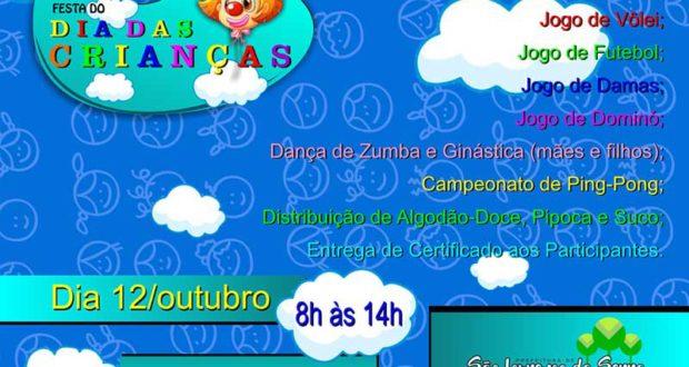 Festa do Dia das Crianças em São Lourenço da Serra