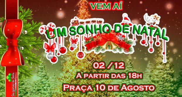 Venha curtir um Sonho de Natal em São Lourenço da Serra