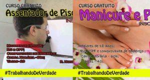 Cursos gratuitos profissionalizantes em São Lourenço da Serra
