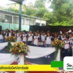 Formatura dos alunos da E.M. Maria Néria Rampim