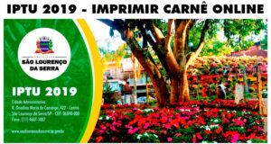 IPTU 2019 - Passo a passo para gerar seu carnê online