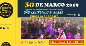 Circuito SESC de Artes 2019 em São Lourenço da Serra