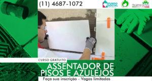 CURSO GRATUITO de Assentador de Pisos e Azulejos
