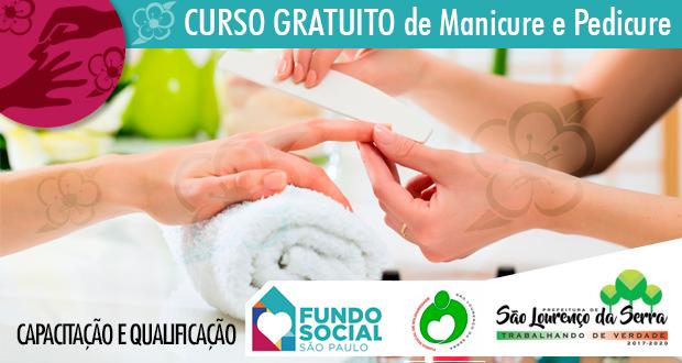O Fundo Social de Solidariedade abre inscrições para capacitação de Manicure e Pedicure (Escola da Beleza)