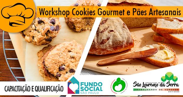 O Fundo Social de Solidariedade abre inscrições para o Workshop de Cookies Gourmet e Pães Artesanais (10 massas).