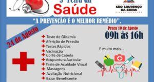 3ª Feira da Saúde de São Lourenço da Serra