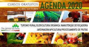 Pré inscrição para Cursos 2020 na Casa da Agricultura