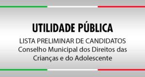Lista Preliminar de Candidatos - CMDCA