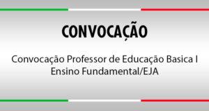 PROFESSOR DE EDUCAÇÃO BÁSICA I - ENSINO FUNDAMENTAL / EJA